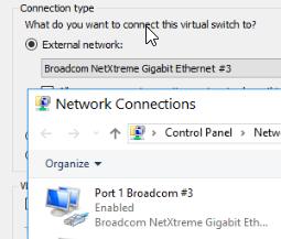 No internet access on virtual machine using Hyper-V – Strong