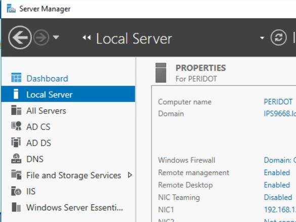 Quickbooks and Server 2016 – Internet Security levels are