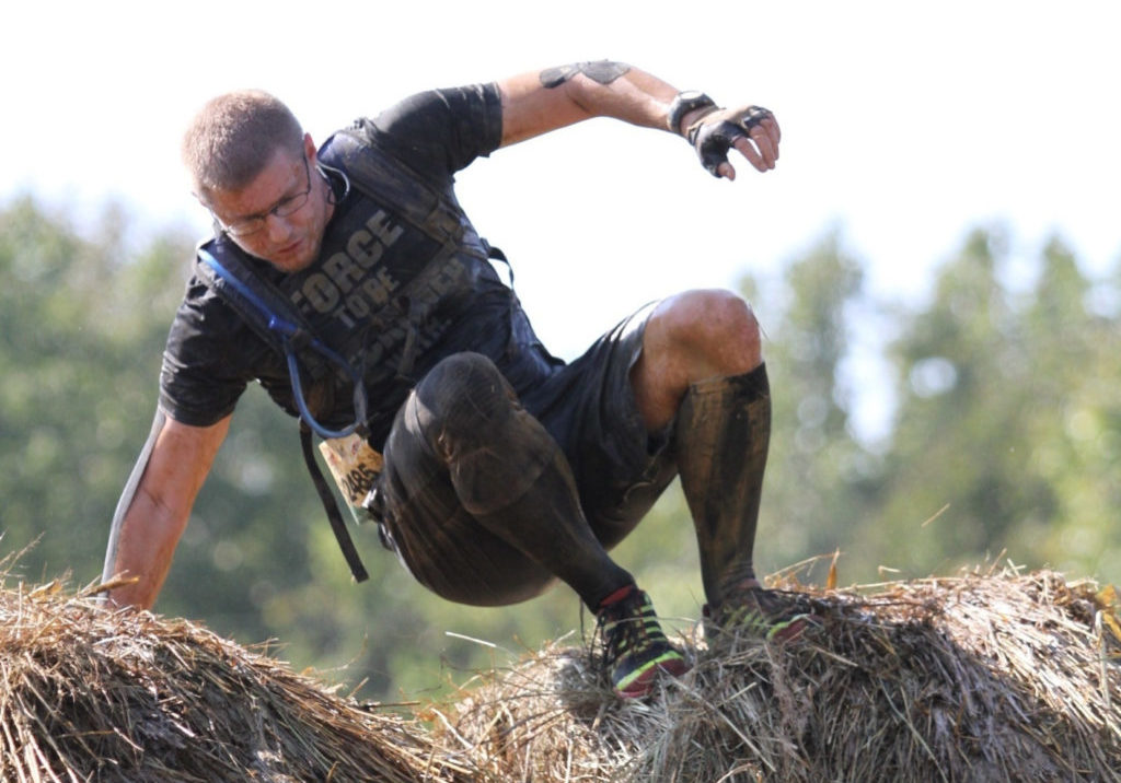 Tough Mudder - 2017 Bale Bonds Obstacle